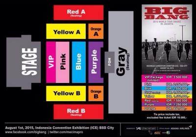 Tiket Bigbang Made Tour Dijual Hari Ini