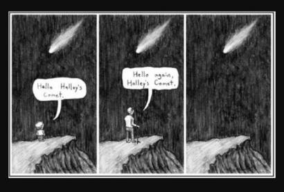 Menanti Komet Halley
