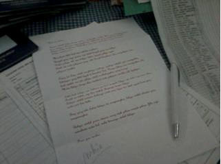 Surat Buat Muridku
