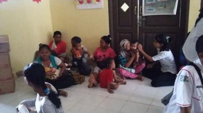 Nusantara Sehat: Posyandu Perdana di Sungai Limau