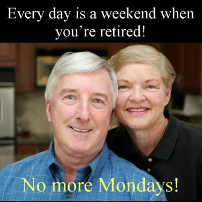 [I Love  Monday] Nikmatnya Jadi Pensiunan