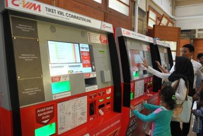 Commuter Vending Machine, Mesin Loket Tiket KRL
