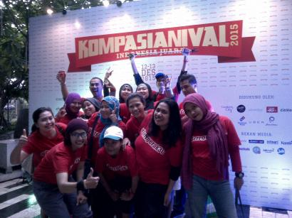 Happily Ever After : Satu Bulan Kompasianival 2015 Berlalu