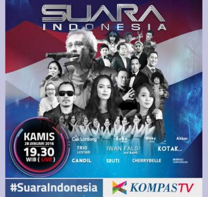 Suara Indonesia, Menegaskan Kembali Kompas TV Merupakan TV News