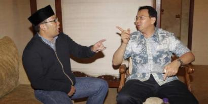 Senin, Ridwan Kamil Tantang Ahok?