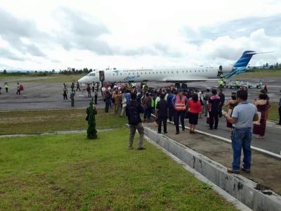 Garuda Indonesia Mendarat Perdana di Tanah Batak!