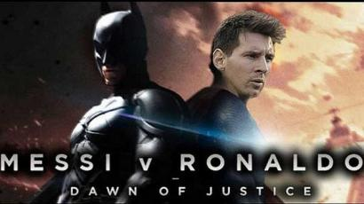 Laga El Clasico Jilid 2: Batman (Ronaldo) vs Superman (Messi)?