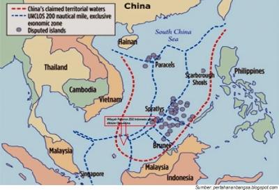 """Natuna """"Dalam Bahaya"""", Tiongkok Tantang Dunia Terkait Laut Tiongkok Selatan"""