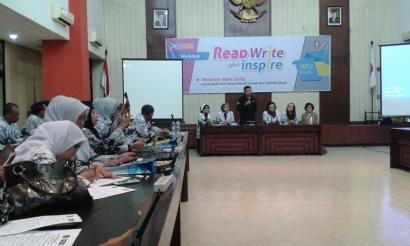 """Gerakan Literasi PGRI """"Read, Write, and Inspire"""""""