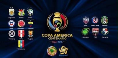 Klasmen Sementara Copa America Centenario 2016 (11/6 )