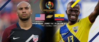 Misi Balas Dendam Ekuador vs Amerika Serikat di Perempat Final Copa America 2016