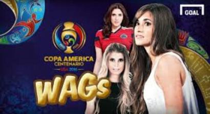 WAGs Cantik di Balik Kehebatan Lini Pertahanan dalam Semifinal Copa America Centenario 2016