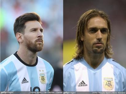 Lionel Messi vs Gabriel Batistuta