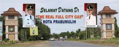 "Selamat Datang di ""The Real Full City Gas"" Kota Prabumulih"