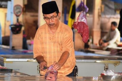 Penyebab Mahalnya Harga Daging Sapi Jelang Lebaran di Makassar