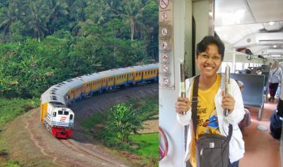 Begini Rasanya Naik Kereta ke Kota Baja, Ujung Barat Pulau Jawa
