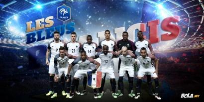 Napak Tilas Les Bleus di Euro 2016