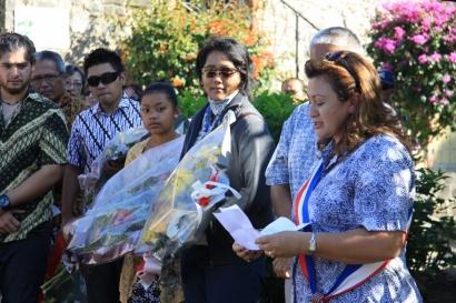 Kedatangan Orang Jawa 120 Tahun Lalu Juga Diperingati di Bourail NC