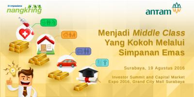 [3 Hari Lagi] Blog Review: Belajar Menjadi Middle Class yang Kokoh dengan Investasi Emas!