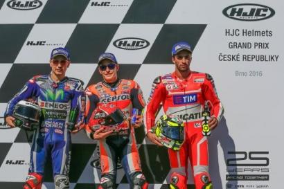 Jelang MotoGP Brno, Marquez Pole, Rossi Keenam