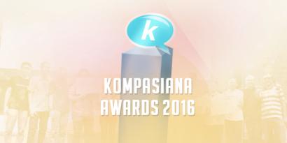 Inilah Penerima Award di Kompasianival 2016