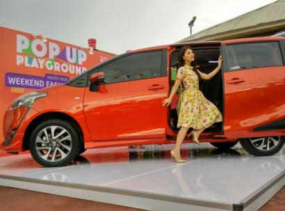 Toyota All New Sienta: Pelayanan Lebih Untuk Penumpang dan Pengemudi