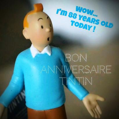 Tintin Masih Bertahan Meski Berumur 88 Tahun