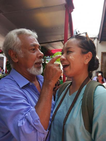 Ada Xanana Gusmao di Perayaan Mandi-mandi di Kampung Tugu Tahun Ini