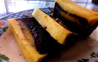 Kolaborasi Pisang dan Brownies Membuat Lupa Diet