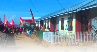 Di Padang, 40 KK Bekas Gepeng Nikmati Kehidupan di Vila Sosial