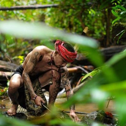 Suku Dayak, Tato dan Identitas