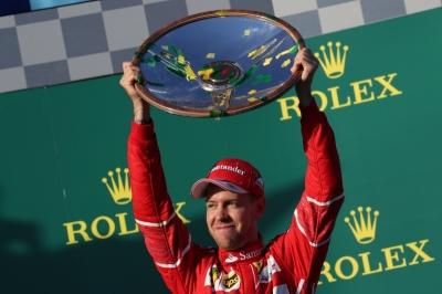 """Kemenangan Vettel Bersama """"Kuda Jingkrak"""" Tandai Era Baru Formula One"""