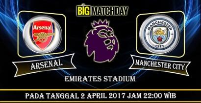 Big Match Dua Tim Pesakitan Arsenal vs City