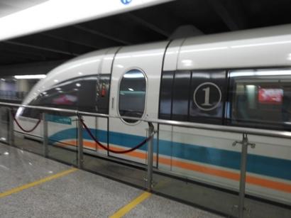 [Jelajah Tiongkok] Menjajal Kereta Terbang ala Shanghai