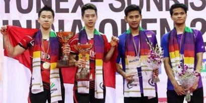 Hebat! Terulang Lagi All Indonesian Final di India Open