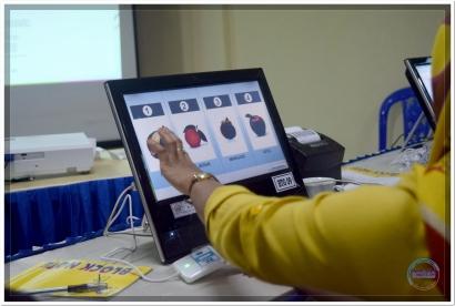 Tenaga Teknis e-Voting Bantaeng Sukses Ikuti BIMTEK