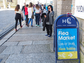 Flea Market Truro, Cornwall UK