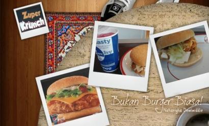 KFC Zuper Krunch, Sajian Burger yang Tak Biasa