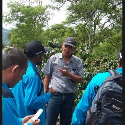"Sulwan Amri, Pakar Kopi Gayo Jadi ""Bintang"" Widya Wisata Penas XV"