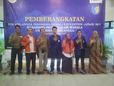 Tim Ekspedisi Denali Bertemu dengan para Pendiri WANALA Univ. Airlangga