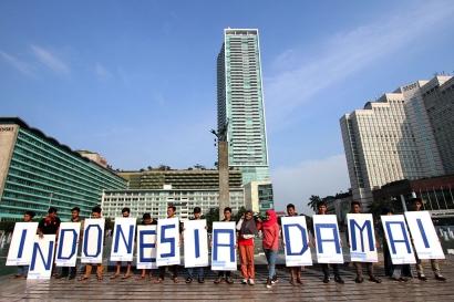 Mewujudkan Damai di Bumi Indonesia
