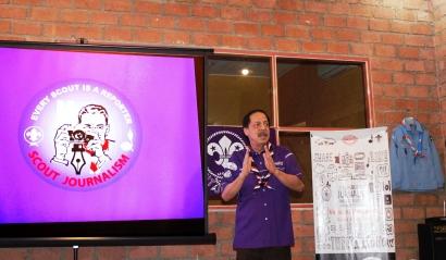 Ngabuburit Pewarta Pramuka, Bahas Media Sosial dan Berita Hoaks