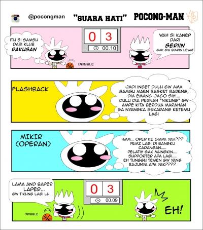 Komikstrip: Pocong-Man by Alvin