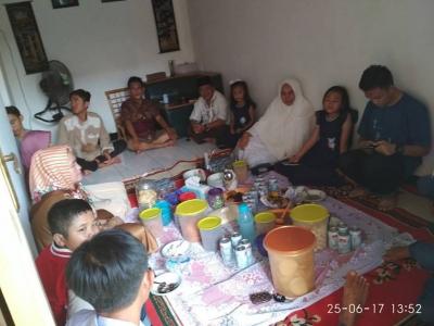 """Sanjo"", Tradisi Mengunjungi Warga di Lubuk Linggau, Sumatera Selatan"