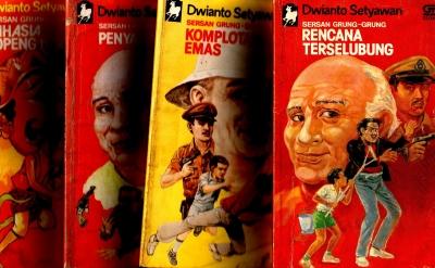 Bacaan Favorit 1980-an: Sersan Grung-Grung dan Dwianto Setyawan