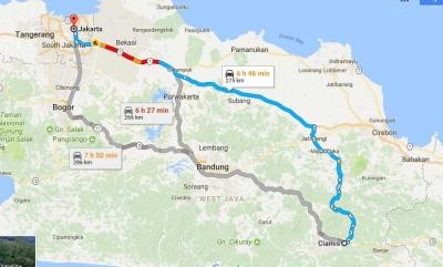 Naik Bis Jakarta Cikarang Majalengka Ciamis