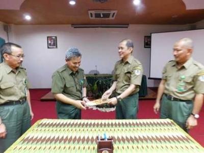 Pelepasan dan Serah Terima Jabatan UPT Wilayah Sulawesi Selatan