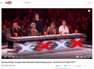 Benarkah Demian Aditya Gagal di America's Got Talent!!