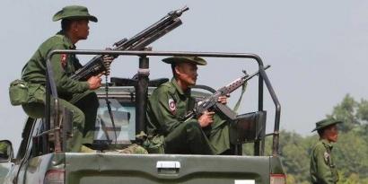 Kekuatan Militer Masih Berperan di Myanmar