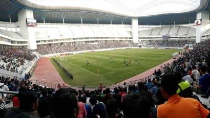 Stadion Batakan, Ujian Kedewasaan Suporter Indonesia